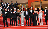 """CANNES, FRANCE. May 14, 2019: Bill Murray, Guest, Jim Jarmusch, Sara Driver, Tilda Swinton, Luka Sabbat, Adam Driver, Selena Gomez, Chloe Sevigny & Guests at the gala premiere for """"The Dead Don't Die"""" at the Festival de Cannes.<br /> Picture: Paul Smith / Featureflash"""