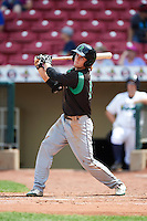 Dayton Dragons center fielder Mitch Piatnik (10) at bat during a game against the Cedar Rapids Kernels on July 24, 2016 at Perfect Game Field in Cedar Rapids, Iowa.  Cedar Rapids defeated Dayton 10-6.  (Mike Janes/Four Seam Images)