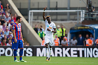 Swansea City's Tammy Abraham celebrates scoring the opening goal     <br /> <br /> <br /> Photographer Craig Mercer/CameraSport<br /> <br /> The Premier League - Crystal Palace v Swansea City - Saturday 26th August 2017 - Selhurst Park - London<br /> <br /> World Copyright &copy; 2017 CameraSport. All rights reserved. 43 Linden Ave. Countesthorpe. Leicester. England. LE8 5PG - Tel: +44 (0) 116 277 4147 - admin@camerasport.com - www.camerasport.com
