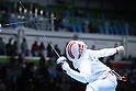 Kazuyasu Minobe (JPN), <br /> AUGUST 9, 2016 - Fencing : <br /> Men's Epee Individual Round of 16 <br /> at Carioca Arena 3 <br /> during the Rio 2016 Olympic Games in Rio de Janeiro, Brazil. <br /> (Photo by YUTAKA/AFLO SPORT)