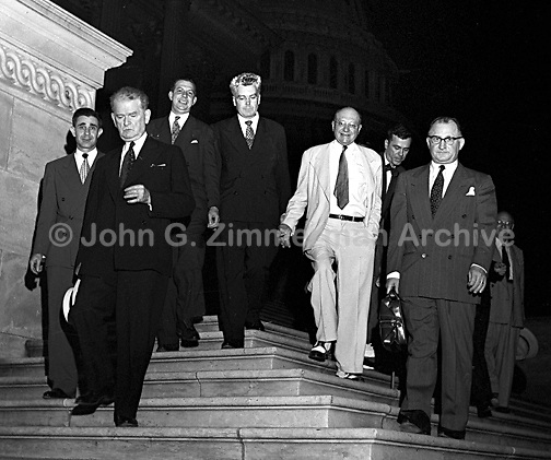 State of Congress, Week of July 16, 1951. Washington D.C. CREDIT: JOHN G. ZIMMERMAN