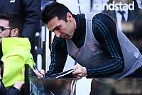Gianluigi Buffon of Juventus <br /> Torino 6-1-2020 Juventus Stadium <br /> Football Serie A 2019/2020 <br /> Juventus FC - Cagliari Calcio <br /> Photo Federico Tardito / Insidefoto