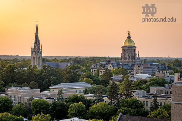 August 25, 2017; ND Trail day 12 (Photo by Matt Cashore/University of Notre Dame)
