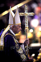 Ash Wednesday Benedict XVI during the traditional mass in Basilica  St. Peter's ,Feb. 13, 2013