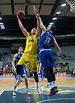 18.12.2019, EWE Arena, Oldenburg, GER, EuroCup 7Days, EWE Baskets Oldenburg vs Buducnost VOLI Podgorica, im Bild<br /> Rasid MAHALBASIC (EWE Baskets Oldenburg #24 ) Zoran NIKOLIC (Buducnost VOLI Podgorica #19 )<br /> Foto © nordphoto / Rojahn