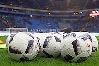 Bälle für das Derby liegen bereit - 05.02.2017: Eintracht Frankfurt vs. SV Darmstadt 98, Commerzbank Arena