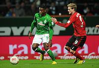 FUSSBALL   1. BUNDESLIGA    SAISON 2012/2013    14. Spieltag   SV Werder Bremen - Bayer 04 Leverkusen                28.11.2012 Eljero Elia (li, SV Werder Bremen) gegen Andre Schuerrle (re, Bayer 04 Leverkusen)