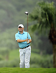 TAIPEI, TAIWAN - NOVEMBER 19:  John Gould of England tees off on the 6th hole during day two of the Fubon Senior Open at Miramar Golf & Country Club on November 19, 2011 in Taipei, Taiwan.  Photo by Victor Fraile / The Power of Sport Images
