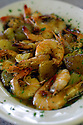 Barbecue Shrimp is a popular dish at Uglesich's during lunch in New Orleans, Thursday, January 27, 2005.<br /> (CHERYL GERBER PHOTO)
