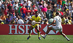 England vs Australia during the HSBC Sevens Wold Series Plate Semi Finals match as part of the Cathay Pacific / HSBC Hong Kong Sevens at the Hong Kong Stadium on 29 March 2015 in Hong Kong, China. Photo by Victor Fraile / Power Sport Images