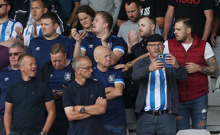 Hartlepool fans<br /> <br /> Photographer Rob Newell/CameraSport<br /> <br /> The EFL Sky Bet Championship - Luton Town v Huddersfield Town - Saturday 31 August 2019 - Kenilworth Stadium - Luton<br /> <br /> World Copyright © 2019 CameraSport. All rights reserved. 43 Linden Ave. Countesthorpe. Leicester. England. LE8 5PG - Tel: +44 (0) 116 277 4147 - admin@camerasport.com - www.camerasport.com