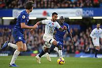 Theo Walcott of Everton races upfield during Chelsea vs Everton, Premier League Football at Stamford Bridge on 11th November 2018