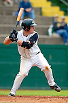 18 May 2006: Kyle Massie,  a University of Vermont Sophomore from Rutland, VT, at bat against the University of Maine Black Bears, at Historic Centennial Field, in Burlington, Vermont...Mandatory Photo Credit: Ed Wolfstein Photo.