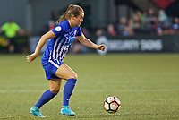 Portland, OR - Saturday May 27, 2017: Emilie Haavi during a regular season National Women's Soccer League (NWSL) match between the Portland Thorns FC and the Boston Breakers at Providence Park.