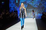 20.1.2015, Potsdam Now Fashion Week. Gezeigt werden moderne, exklusive Kollektionen führender israelischer Designerinnen und Designer. Shani Zimmerman und Zion Anava interpretieren auf sehr unterschiedliche Weise elegante Ready-To-Wear. Danach geht es weiter mit der Kollektion des ebenfalls aus Tel Aviv stammenden, seit 2014 jedoch auch in Amsterdam vertretenen Labels Frau Blau. Efrat Kalig ist berühmt für ihre eindrucksvolle Couture und bildet den Abschluss der Schauen.<br /><br />Show von Frau Blau