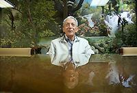 Aldegundo Garza, director and founder of the Museo de las Aves de Mexico, Saltillo Coahuila