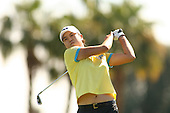 Apr. 2, 2006; Rancho Mirage, CA, USA; Hee-Won Han tees off during the final round of the Kraft Nabisco Championship at Mission Hills Country Club. ..Mandatory Photo Credit: Darrell Miho.Copyright © 2006 Darrell Miho .