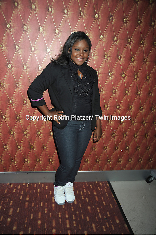 Shenell Edmonds attends the Daytime Stars and Strike Charity Event benefitting The American Cancer Society on October 7, 2012 at Bowlmor Lanes in Times Square in New York City.