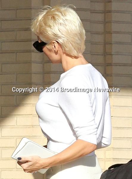 Pictured: Pamela Anderson<br /> Mandatory Credit &copy; Patron/Broadimage<br /> Pamela Anderson leaving Barneys New York<br /> <br /> 2/5/14, Beverly Hills, California, United States of America<br /> <br /> Broadimage Newswire<br /> Los Angeles 1+  (310) 301-1027<br /> New York      1+  (646) 827-9134<br /> sales@broadimage.com<br /> http://www.broadimage.com