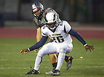 Torrance, CA 09/25/15 - Peter Amara (El Segundo #26) and Robert Fuerte (Torrance #54) in action during the El Segundo - Torrance varsity football game at Zamperini Field of Torrance High School