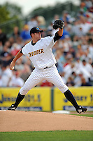 July 15, 2009:  Pitcher Zach McAllister of the Trenton Thunder during the 2009 Eastern League All-Star game at Mercer County Waterfront Park in Trenton, NJ.  Photo By David Schofield/Four Seam Images