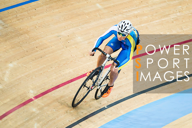 Nigel Wong of CMS in action during the Youth Qualifying (200M Flying Start) at the Hong Kong Track Cycling Race 2017 Series 5 on 18 February 2017 at the Hong Kong Velodrome in Hong Kong, China. Photo by Marcio Rodrigo Machado / Power Sport Images