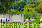 Spectators watching  Rathmore and Kerry keeper Shane Ryan play against Laune Rangers  during their IFC clash in Killarney Friday evening
