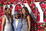 NEW YORK, NY - JUNE 10:  (L-R) Yolanda Adams, Rodney East and Taylor Crawford  attends the 72nd Annual Tony Awards at Radio City Music Hall on June 10, 2018 in New York City.  (Photo by Walter McBride/WireImage)