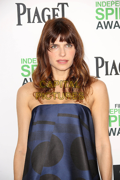 SANTA MONICA, CA - March 01: Lake Bell at the 2014 Film Independent Spirit Awards Arrivals, Santa Monica Beach, Santa Monica,  March 01, 2014. Credit: Janice Ogata/MediaPunch<br /> CAP/MPI/JO<br /> &copy;JO/MPI/Capital Pictures