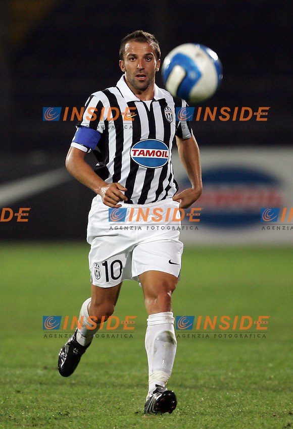 Pescara 4/9/2006 Friendly Match - Amichevole Roma Juventus 1-0. Photo Andrea Staccioli INSIDE<br /> Juventus Alessandro DEL PIERO