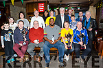 St Patrick's Day Parade prizes presentation at the Abbey Inn on Monday. Pictured front l-r Rory MacEntee, Bryan Carr, Danny Leane, Rick Leonard, Marilyn O'Shea, Darkness Into Light, Dermot Reen, Tralee Parnells, Holly MacEntee, Aida MacEntee, Martin Brosnan, Hannah O'Shea, Darkness Into Light, Johnnie Wall, Mikey Wall, Ruairi Reen, John Drummey and Michael Gaffney