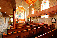 Interior of St. Columba's Church, Drumcliffe, County Sligo, Republic of Ireland