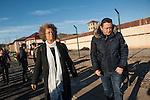 Angela Davis visits Arnaldo Otegi