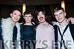 L-R The band Queen were L-R Darren Barrett, Nathan Dineen, Adam Guerin and Gerard Leen at the Kerry Comogie 'Stars in their Eyes' concert last Saturday night in the Ballyroe heights hotel, Tralee.
