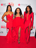 NEW YORK, NY - February 8: Cindy Herron-Braggs, Terry Ellis and Rhona Bennett of En Vogue attends the Red Dress / Go Red For Women Fashion Show at Hammerstein Ballroom on February 8, 2018 in New York City Credit: John Palmer / Media Punch