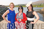 Looking for a fun fashion night out then the place to be is the Cahersiveen Rowing Club gala fashion event with a special section for the young ladies of Kerry who will be graduating this year. .Pictured L-R Linda O'Shea, organiser Martha Daly and Mary B Murphy