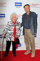 BEVERLY HILLS - JUN 12: Charlotte Rae, Alan Mandell at The Actors Fund's 20th Annual Tony Awards Viewing Party at the Beverly Hilton Hotel on June 12, 2016 in Beverly Hills, California