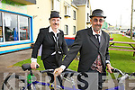 'On Yer Bike' husband & wife duo Mary & John Maguire at The Charlie Chaplin Festival in Waterville on Thursday.