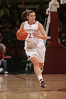 STANFORD, CA - JANUARY 2:  Jeanette Pohlen of the Stanford Cardinal during Stanford's 79-58 win over the California Golden Bears on January 2, 2010 at Maples Pavilion in Stanford, California.