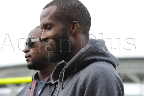 29.10.2010 Denver Broncos Team Practice and Press Conference at The Oval Cricket Ground. Picture shows Denver Bronco corner back Champ Bailey.