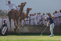 Soren Kjeldsen (DEN) on the 8th during Round 2 of the Oman Open 2020 at the Al Mouj Golf Club, Muscat, Oman . 28/02/2020<br /> Picture: Golffile | Thos Caffrey<br /> <br /> <br /> All photo usage must carry mandatory copyright credit (© Golffile | Thos Caffrey)