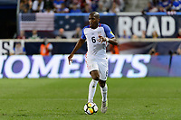 Harrison, NJ - Friday Sept. 01, 2017: Darlington Nagbe during a 2017 FIFA World Cup Qualifier between the United States (USA) and Costa Rica (CRC) at Red Bull Arena.