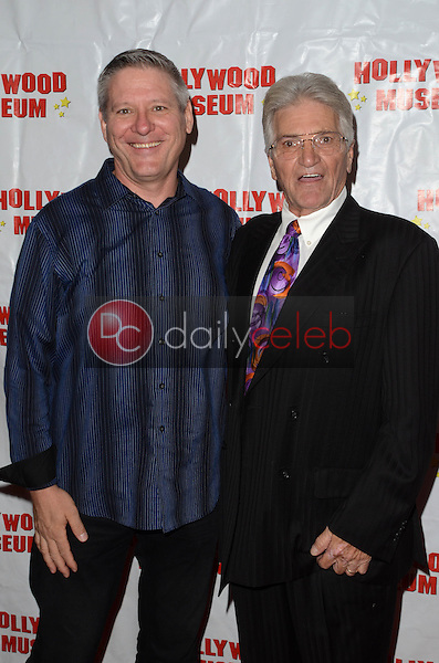 """Radames Pera, Paul Paterson at """"Child Stars - Then and Now"""" Exhibit Opening at the Hollywood Museum in Hollywood, CA on August 19, 2016. (Photo by David Edwards)"""