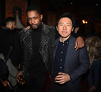 "LOS ANGELES - FEBRUARY 19: Lakeith Stanfield and Hiro Murai at the party for FX's ""Atlanta Robbin' Season"" at the Clifton Cafeteria on February 19, 2018 in Los Angeles, California.(Photo by Frank Micelotta/FX/PictureGroup)"