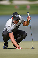 Henrik Stenson (SWE) lines up his putt on 6 during round 2 of the Arnold Palmer Invitational at Bay Hill Golf Club, Bay Hill, Florida. 3/8/2019.<br /> Picture: Golffile | Ken Murray<br /> <br /> <br /> All photo usage must carry mandatory copyright credit (&copy; Golffile | Ken Murray)