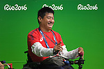 Takayuki Kitani (JPN), <br /> SEPTEMBER 14, 2016 - Boccia : <br /> at Carioca Arena 2<br /> during the Rio 2016 Paralympic Games in Rio de Janeiro, Brazil.<br /> (Photo by AFLO SPORT)