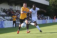 during Boreham Wood vs Dagenham & Redbridge, Vanarama National League Football at Meadow Park on 4th August 2018