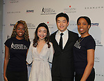 Maia and Ales Shibutani - 2016 World Silver Medalist/ 2016 National Champions & Figure Skating in Harlem Students - The 11th Annual Skating with the Stars Gala - a benefit gala for Figure Skating in Harlem on April 11, 2016 on Park Avenue in New York City, New York with many Olympic Skaters and Celebrities. (Photo by Sue Coflin/Max Photos)