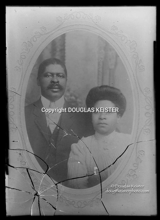 Photographs taken on black and white glass negatives by African American photographer(s) John Johnson and Earl McWilliams from 1910 to 1925 in Lincoln, Nebraska. Douglas Keister has 280 5x7 glass negatives taken by these photographers. Larger scans available on request.