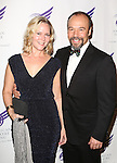 Rebecca Luker and Danny Burstein attending the The 2013 American Theatre Wing's Annual Gala honoring Harold Prince at the Plaza Hotel in New York City on September 16, 2013